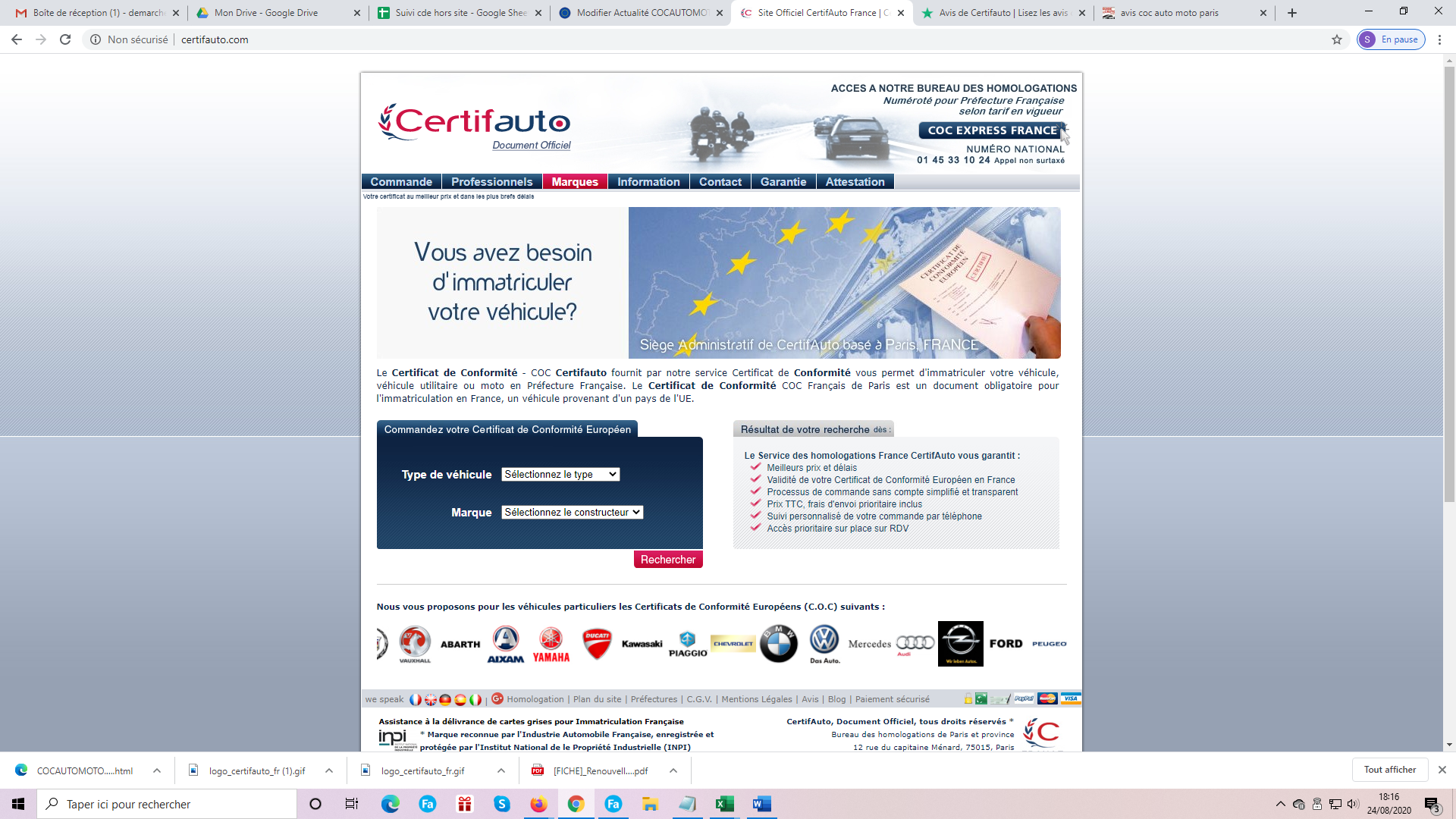 COCAUTOMOTO.COM VRAIS AVIS
