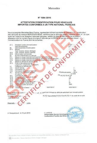Certificat de Conformité : Qu'est-ce que c'est le Certificat de Conformité ?