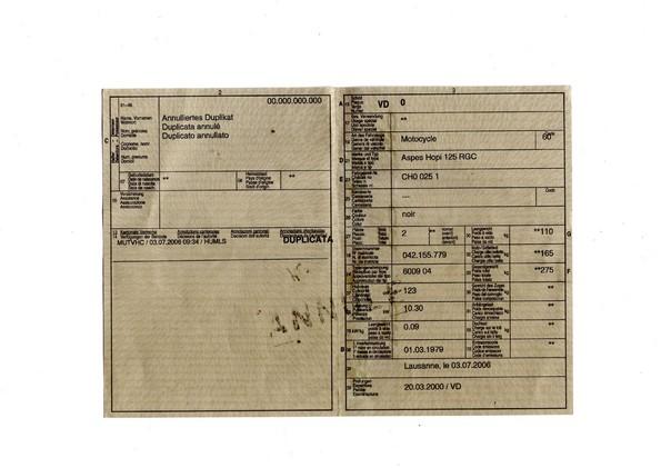 Certificat de Conformité Suisse