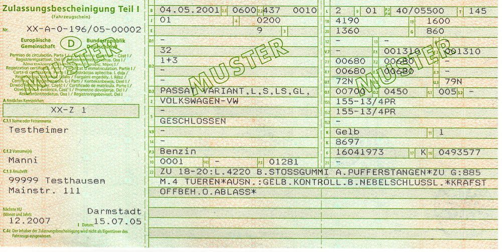 Comment immatriculer une voiture allemande en Belgique ?