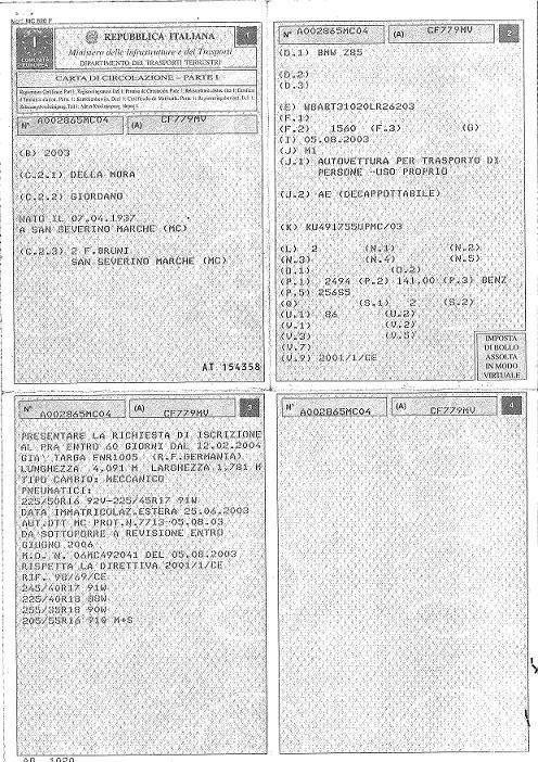 Comment immatriculer une voiture italienne en Belgique ?