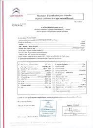 Immatriculer un véhicule provenant de l'étranger Certificat de Conformité