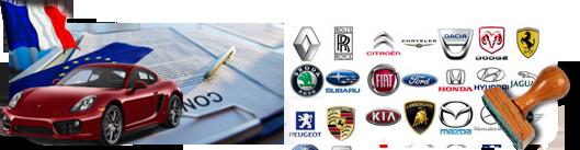 Certificat de conformité voiture importée